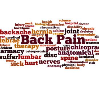 Back Pain, word cloud